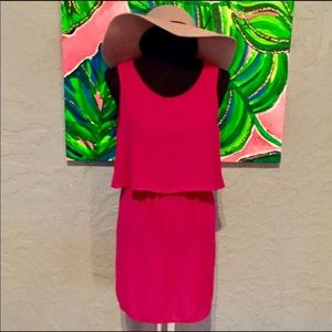 💕Anthropologie💕 Medium Paper Crane Pink Dress